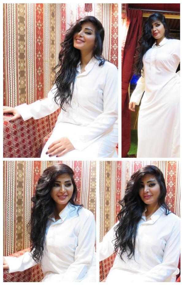 ريم عبدالله بالثوب السعودي صورة