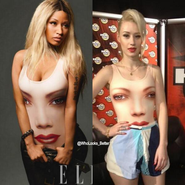 "on Twitter: """"@WhoLooks_Better: Nicki Minaj VS Iggy Azalea ..."