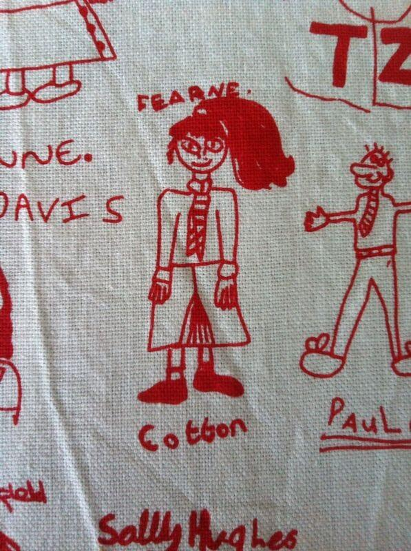 My mate Hayley just found our year 6 tea towel!! Big enough pony tail? http://t.co/OGhO6ZV7kl