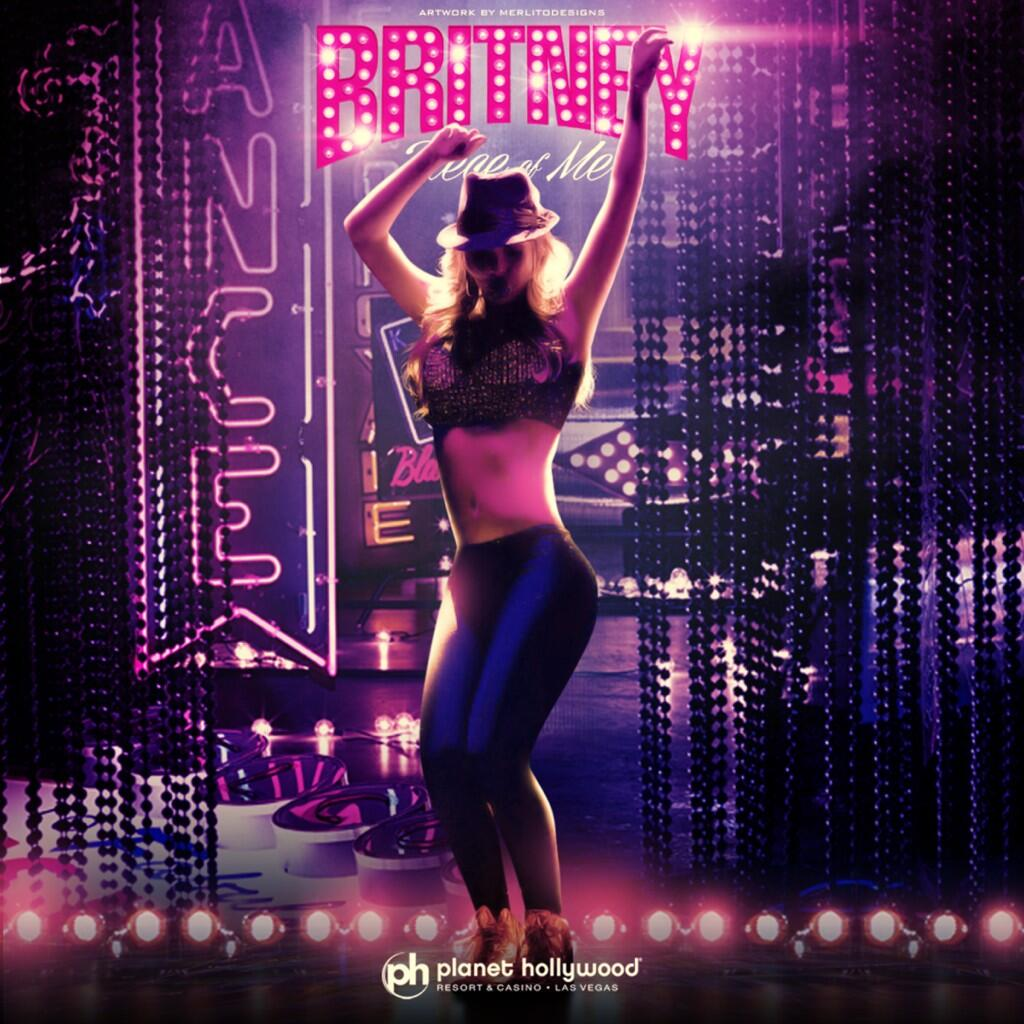 Twitter / britneyspears: #PieceOfMe design by @merlito... ...