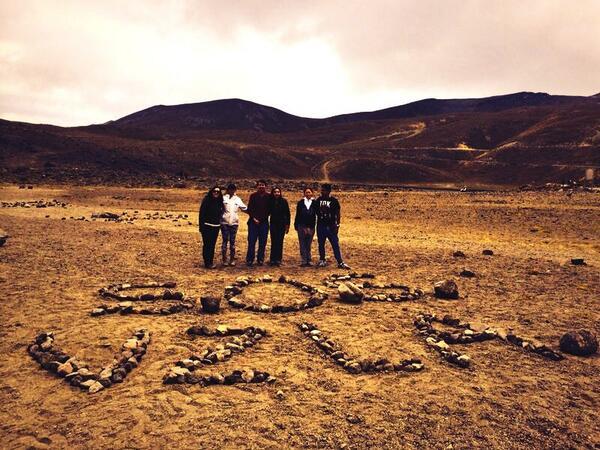 #SOSVenezuela amigos mexicanos nos ayudaron! Nevado de Toluca a 4600 mtrs de altura! http://t.co/HEbKb2qxfO