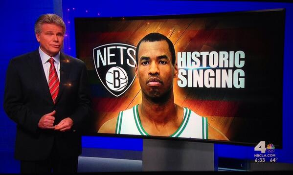 Welp, according to @NBCLA the first openly gay player in the NBA will mark the occasion... WITH SONG!! http://t.co/LWQpaGad0T