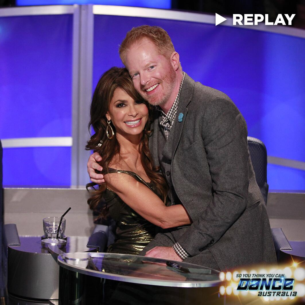 RT @SYTYCDAU: Did you see #ModernFamily's @jessetyler audition for his homegirl @PaulaAbdul? → http://t.co/16YPELelne  #SYTYCDAU http://t.c…