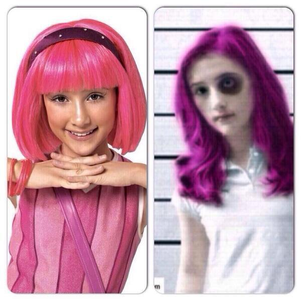 "Typical White Girl on Twitter: ""Stephanie from lazy town ..."