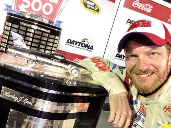Dale Earnhardt's Daytona 500 Win Lifts All Of Nascar