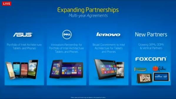 Nice! New Partnerships announced by #intel at #MWC14 http://t.co/YtMEPkv3eV
