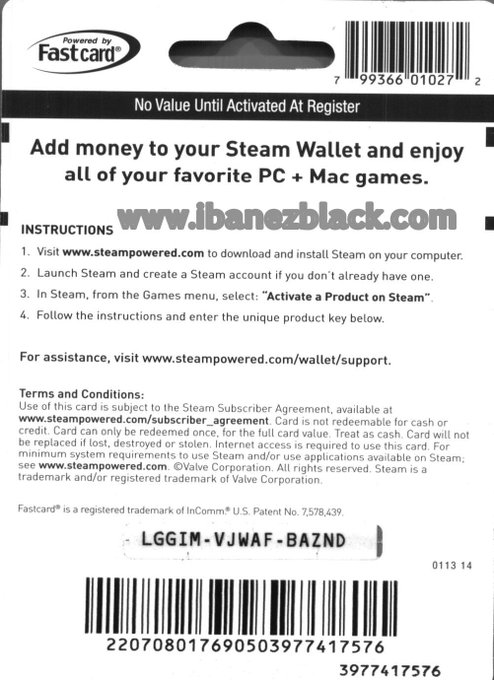 Steam codes from amazon uk