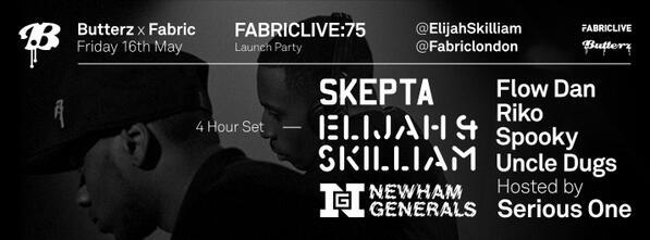 http://t.co/NKrD49XcDw @ElijahSkilliam Launch: @Skepta @DDoubleE7 & @Footsie @BigFlowdan @therikodan @SpartanSpooky http://t.co/8FddTSRAnv