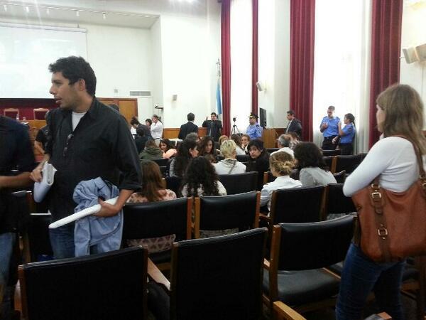 Cuarto intermedio #JuicioLesaHumanidad #Mendoza http://t.co/e4g2YnfiWE