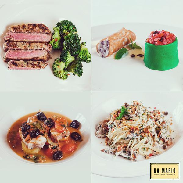 Da Mario her ay İtalya'nın çeşitli bölgelerinden farklı menüler ile karşınızda. Bu ay Sicilya menüsü ile sizlerleyiz. http://t.co/PN4lBbTwDu