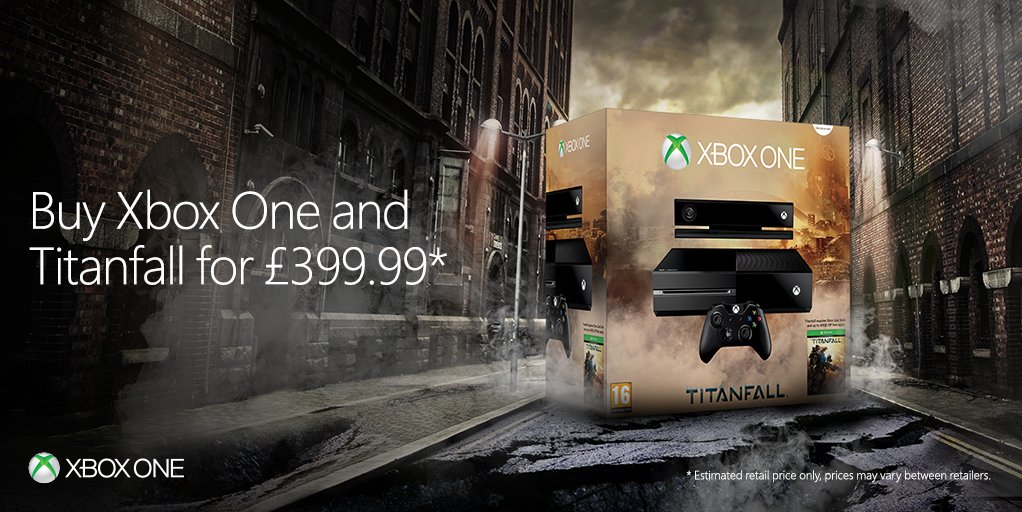 Microsoft Drops Xbox One to £399.99 in the UK, Offers Free Titanfall