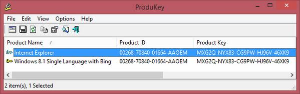 lost windows 8 product key