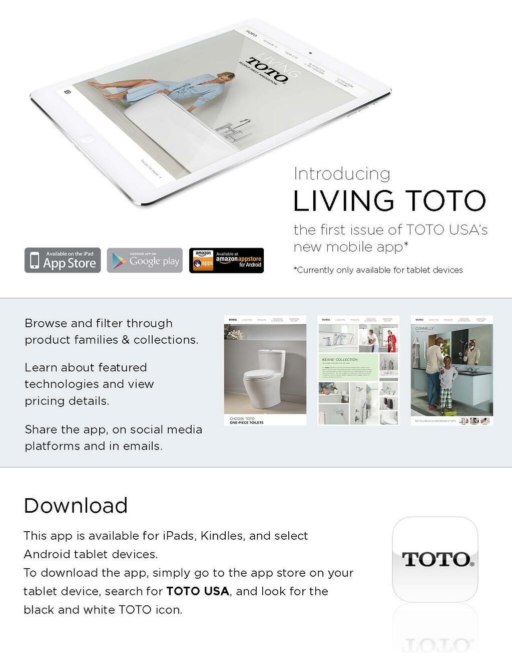 TOTO USA Inc. on Twitter: \