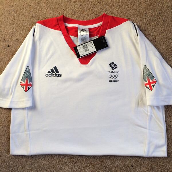 WIN my team GB T Shirt! I'll even sign it to the winner. All you have to do is favourite and retweet. U have 1 week! http://t.co/WThmPh6EPj