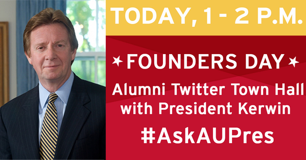 Thumbnail for #AskAUPres Twitter Town Hall - February 2014