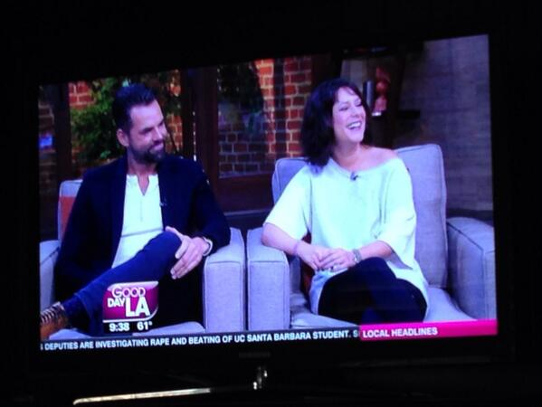 @whitewatercrew @MyJasonThompson love seeing you two on @GDLA! Happy 13,000th episode, @GeneralHospital! #GH13000 http://t.co/L3aWwUuFhY