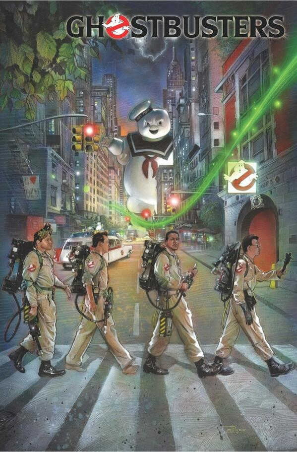 One of my favourite Ghostbusters covers by Nick Runge - very poignant tribute to Harold Ramis. http://t.co/GcZVbZTnEp