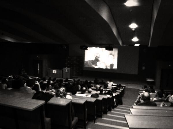 #LSElitfest has begun- paths of glory in the sheikh zayed theatre. http://t.co/0NLAeZ3y0n