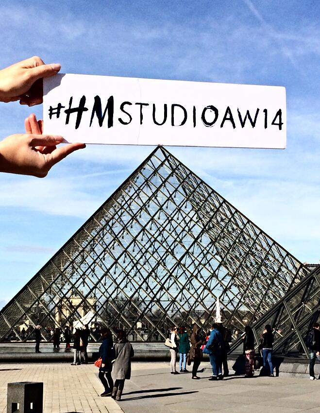 Twitter / hm: We're taking over #Paris! Only ...
