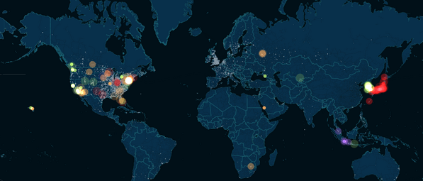 #Sochi2014: Two weeks of #Olympics animated in 60 seconds #dataviz  http://t.co/30Zu465ZRJ