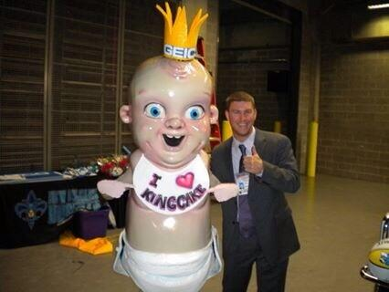 The New Orleans Pelicans Present King Cake Baby Ign Boards