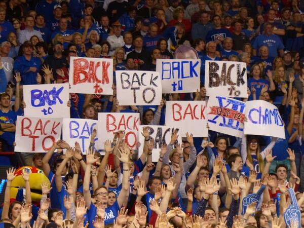 Your Kansas Jayhawks are, once again, @Big12Conference champions! #kubball #rockchalk http://t.co/kcJXLOOzhS