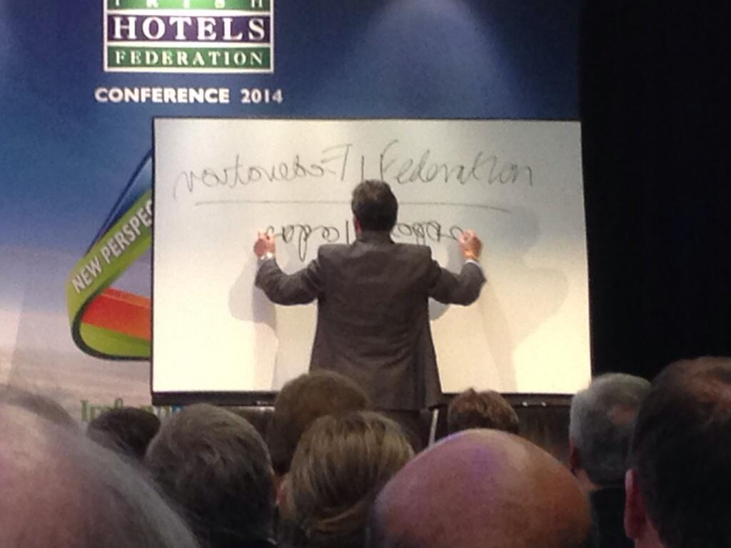 Twitter / Peteer: #ihf2014 Federation upside ...