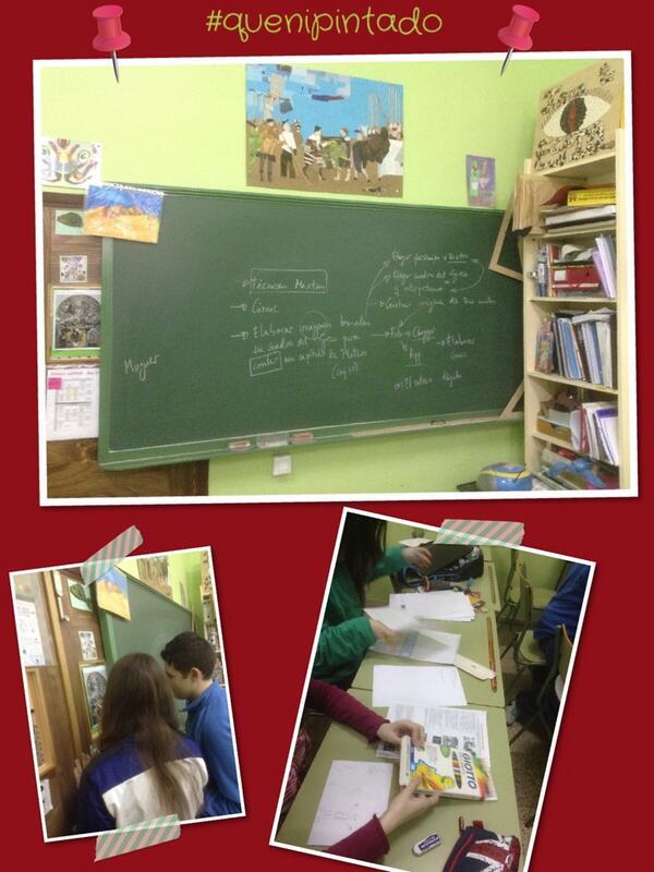 RT @inmitacs: #quenipintado ¡Organizamos las tareas! #iescalvín #plateroyyo #Greco http://t.co/uSPyDSfgPa