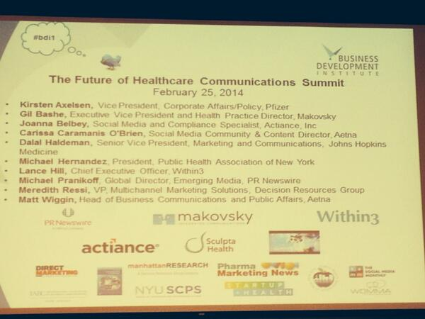 Thumbnail for 2/25 Future of Healthcare Communications Summit