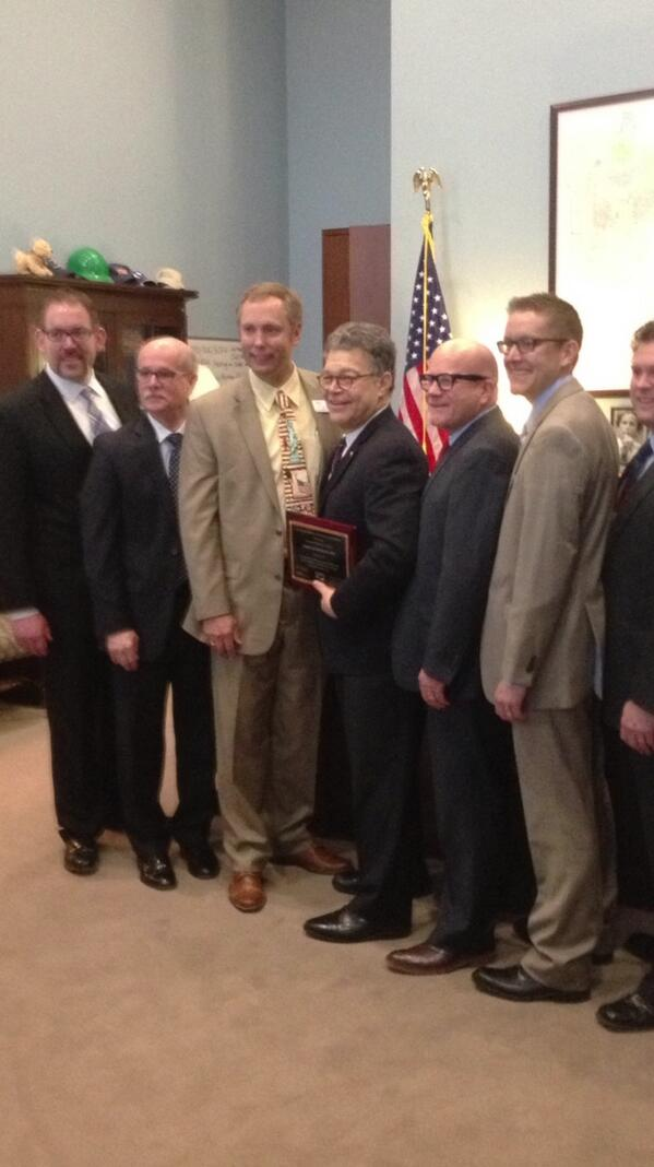 Senator Franken is a champion of educators and here with principals #mespamn #naespnlc @naesp http://t.co/IkcQjrBw2H