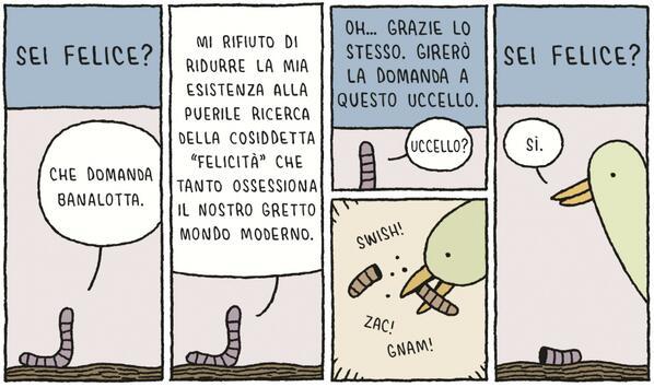 Visto che quella di settimana scorsa vi è piaciuta ecco una delle prime vignette di #TomGauld in italiano! http://t.co/xSpka2aTvX