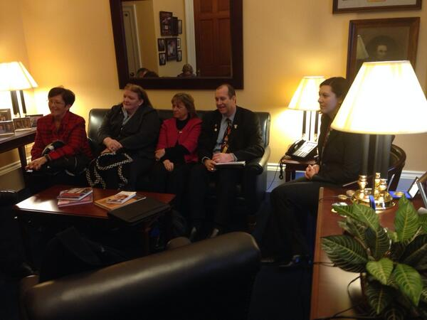 IPA delegation meeting with @RepHultgren staff.  Terrific meeting! #naespNLC http://t.co/HkokYeWcL4