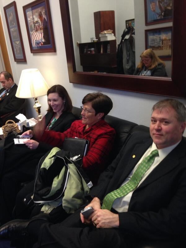 IPA leaders waiting for Congressional meetings. #naespNLC http://t.co/Dqa2oFVRxK