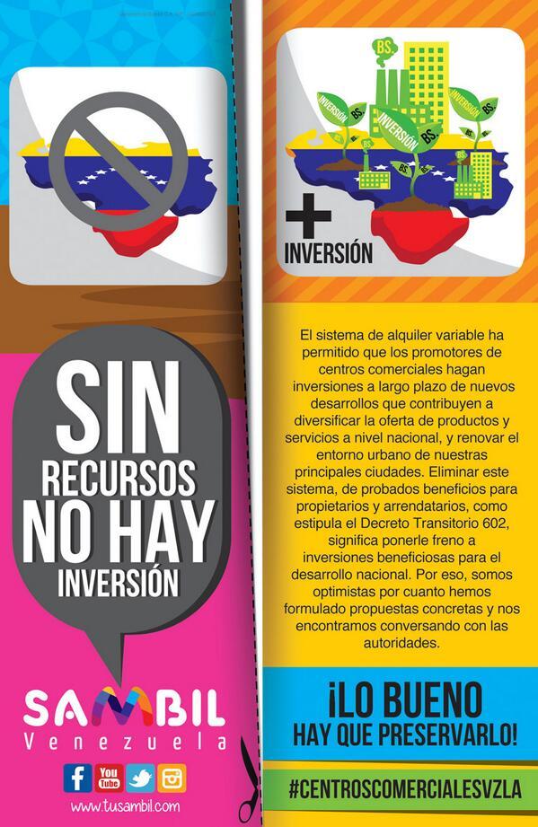 Muy dificil mantener los CC con el decreto#602 del Pres @NicolasMaduro  , muy pocas empresas invertiran en nuevos CC http://t.co/gznMn3W0ES