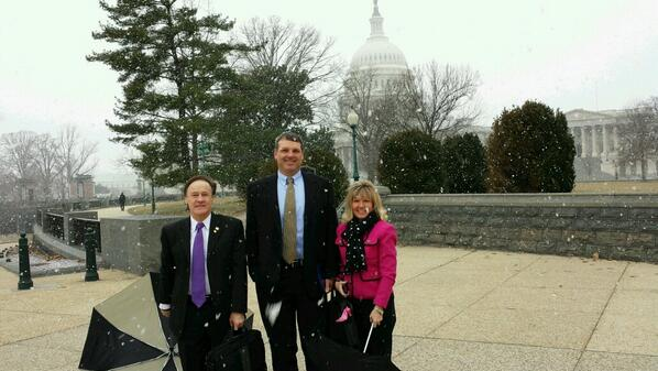 #naespnlc Cold day at the Capitol for our Texas principals. http://t.co/40k7yZz0OP