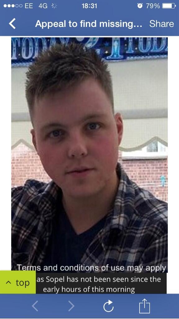 **PLEASE RT**  Bristol man Thomas Sopel, 22, MISSING! Drives silver/blue Astra, reg EN54 VWB. https://t.co/lcxkI0sRQG http://t.co/bIskOe6UJf