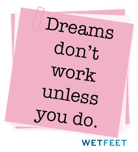 Dreams don't work unless you do. http://t.co/HHoKvHr2Sv