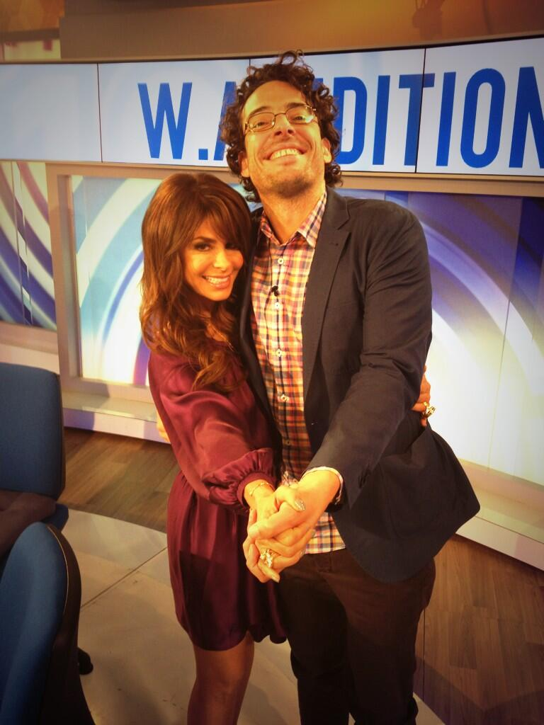 You're too sweet! RT @Joe_Hildebrand Just hanging w/ @PaulaAbdul like us celebrities do. typical day really #studio10 http://t.co/uLBsd4HjVV
