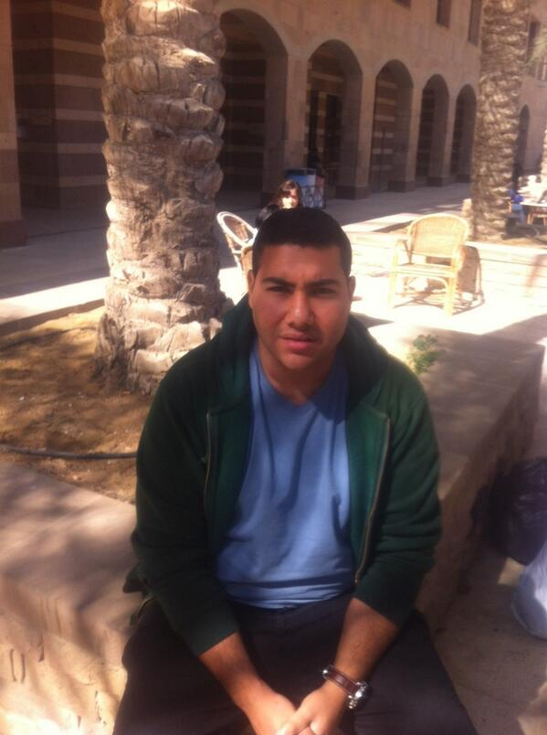 """AUC's old campus had a more lively spirit""-Mohamed Ali, CMA student. #JRMC202 #JRLWeb http://t.co/Wa1Oz4Kd0g"