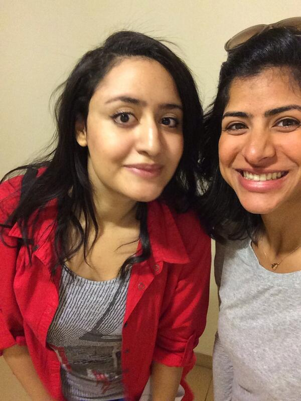 Rowaida and I are so excited about starting the twitter scavenger hunt today, stay tuned! #JRMC202 #jrlweb http://t.co/9gJ57ZpzQR