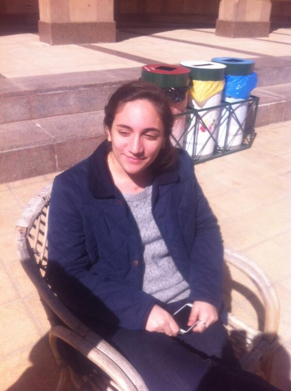 "Mariem, an AUC student, plays in the rugby team. ""It's challenging!"" #JRMC202 #JRLWeb http://t.co/ZaJkgVmT7B"