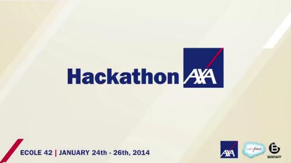 Retrouvez la VIDEO du HACKATHON AXA ! #hackaxa http://t.co/P9qCpLiZTh http://t.co/MtSkhwNCQb