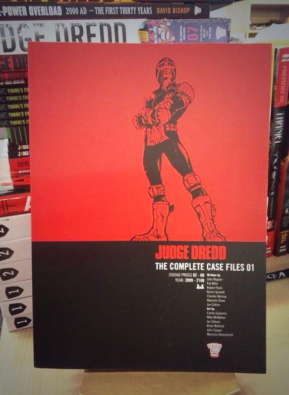 It's our 37th birthday and we're giving away graphic novels all day! RT to win Judge Dredd Case Files #1! #2000AD http://t.co/FBbLVttKN8