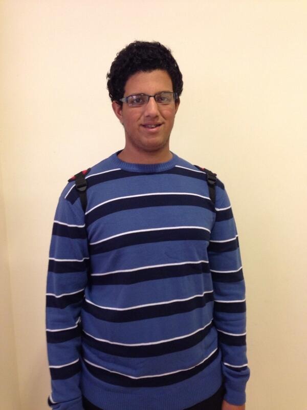 """I watch TV and use Facebook to keep up with the news,"" said undeclared freshman, Omar Bahaa. #JRLWeb #JRMC202 http://t.co/Y5FdWb623i"