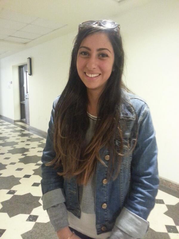 Mariam Wahba, journalism junior, gets her new from Twitter, Facebook, ONTV, CBC and BBC #JRMC202 #JRLWeb. http://t.co/5po3AT7zue