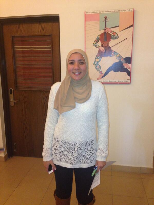 Junior CMA  student, Nourhan Rateb gets her news from BBC and CNN. #JRMC202 #JRLWeb http://t.co/AEhhPhS2eg