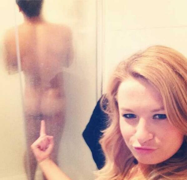 What nice friends Tom Daley has when they upload pictures of him in the shower. #Peachy http://t.co/AQW3m5cjiH