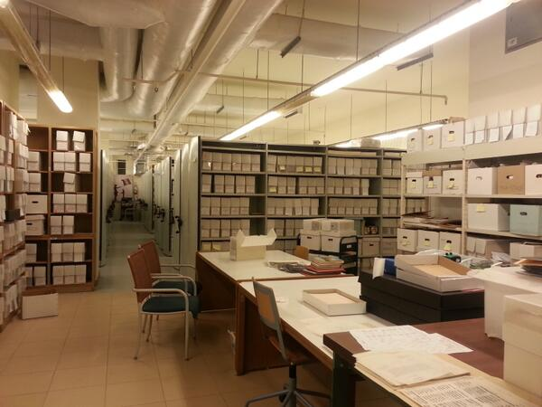 AUC archives hold historic documents that date back to 1919 and can be used for research. #JRMC202 #JRLWeb http://t.co/ZjkYsAoOcS
