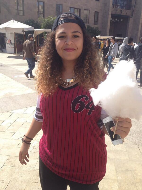 """""""I have joined three clubs at AUC, they're all so motivating,"""" said Nada Ayoub, Junior IMC major. #JRLWeb #JRMC202 http://t.co/4qwnsQVfIB"""