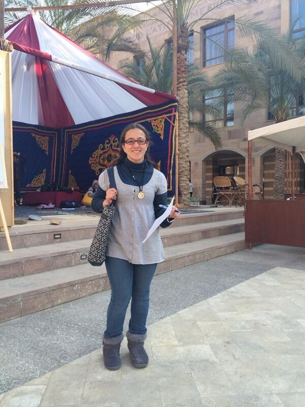 "#JRMC202 student Farah Tawfeek says, ""We need more spots trainers at AUC."" #JRLWeb http://t.co/MB3JPmPeUv"